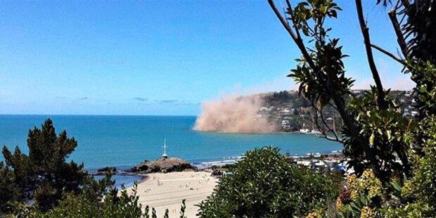 Neuseeland erneut von Erdbeben erschüttert