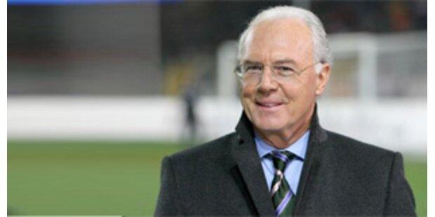 Beckenbauer von Polizei ausgesperrt