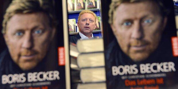 Becker teilt auf Buchmesse aus