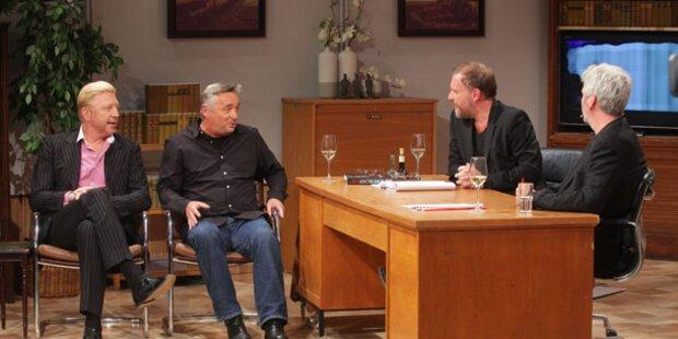 Boris Becker ließ Comedy-Duo keine Chance