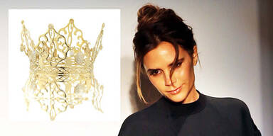 Victoria Beckham versteigert Hochzeits-Krone