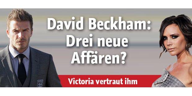 David Beckham: Drei neue Affären?