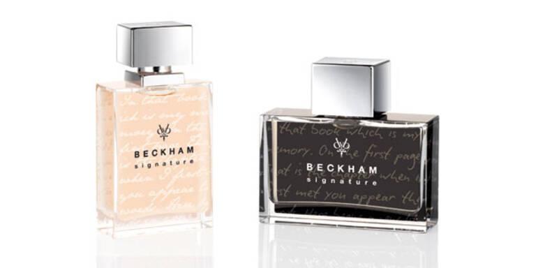 Neues Beckham-Duft-Duo