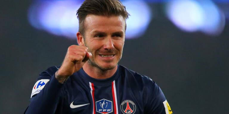Beckham: PSG-Remis bei Startelf-Debüt