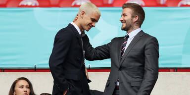 Beckham-Sohn ist nun Profi-Kicker