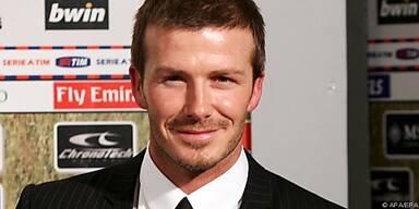 Beckham schwingt den Kochlöffel