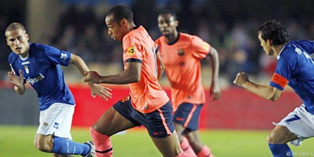 Barca verteidigt Führung gegen Schlusslicht Xerez