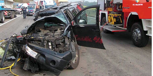 Drama auf der Westautobahn: Western-Reiter tot