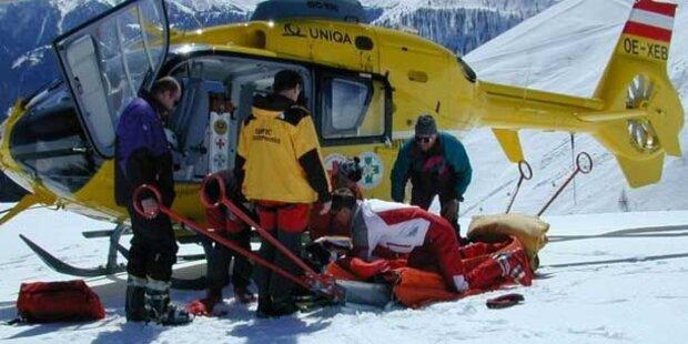 Nach Skiunfall: Unterschenkel wieder abgenommen