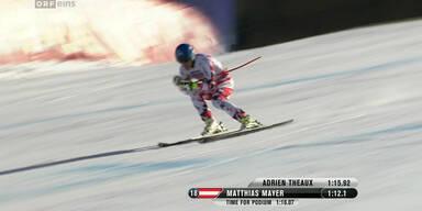 Matthias Mayer verpasst Bronze