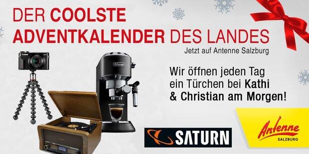 Der Antenne Salzburg Adventkalender