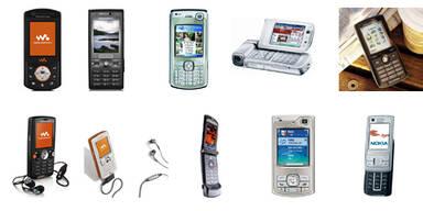Die beliebtesten Handys 2006