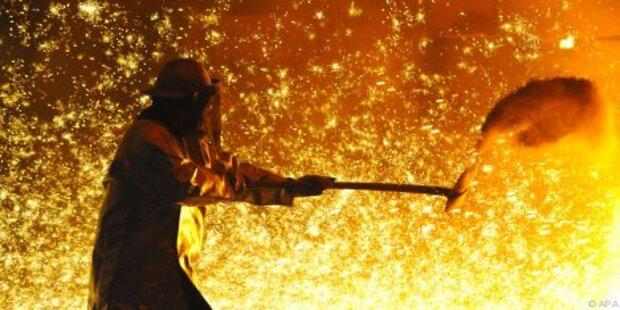 Stahlbranche bangt um Arbeitsplätze