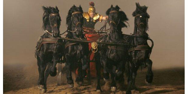 Bombast-Show Ben Hur kommt nach Wien
