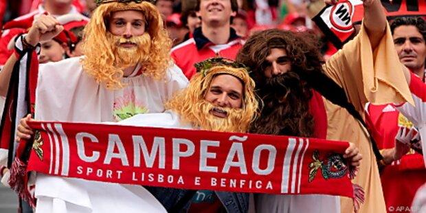 Benfica Lissabon portugiesischer Fußball-Meister