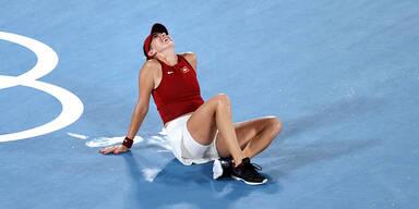 Belinda Bencic jubelt über Tennis-Gold