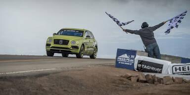 Pikes Peak: Bentayga schafft SUV-Rekord