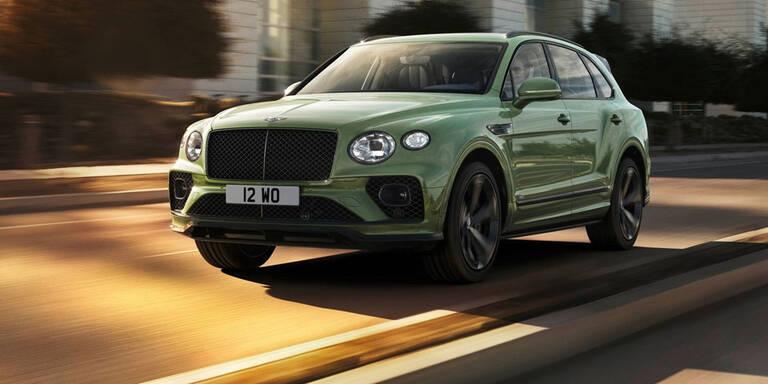 Facelift für den Bentley Bentayga