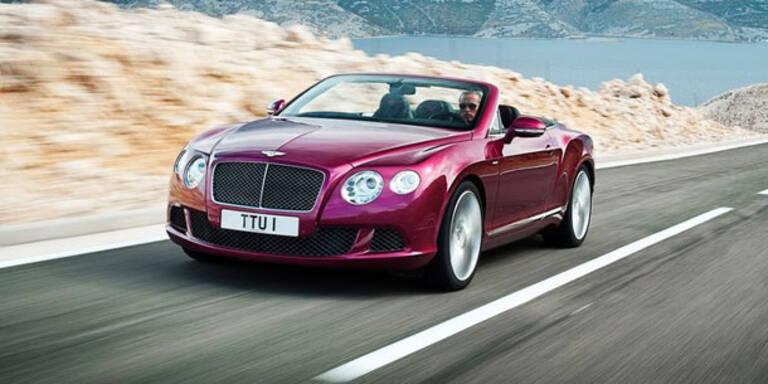 Bentley Continental Speed Cabrio kommt