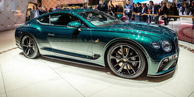 Bentley kämpft ums Überleben
