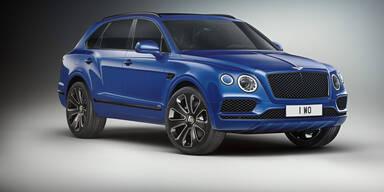Bentley Bentayga V8 als Design Series