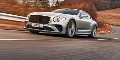 Der neue Bentley Continental GT Speed