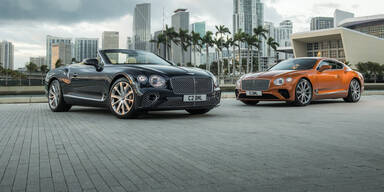 Bentley Continental mit neuem V8-Motor
