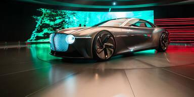 So scharf wird der Bentley der Zukunft