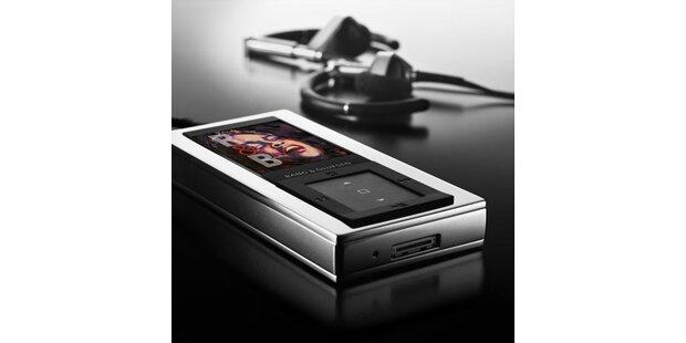Luxus-MP3-Player mit 4 GB kostet 515 Euro