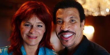 Andrea Berg und Lionel Richie