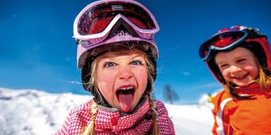 Erster Skitag in Flachau