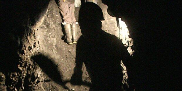 Fünf Bergleute in Salzburg eingeschlossen
