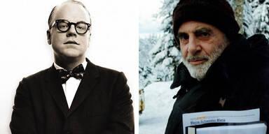 Philip Seymour Hoffman und Maximilian Schell
