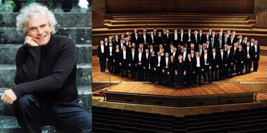 Sir Simon Rattle mit Berliner Philharmonikern