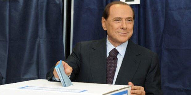 Berlusconi zittert um Heimatstadt Mailand