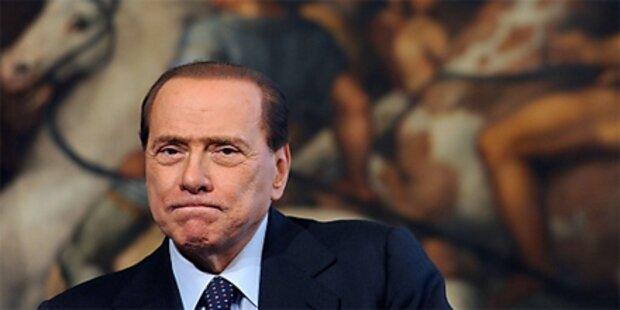 Berlusconi steht vor Vertrauensvotum