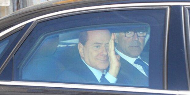 Berlusconi erschien vor Gericht