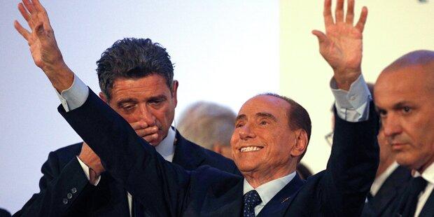 Berlusconi ist zurück im Wahlkampf