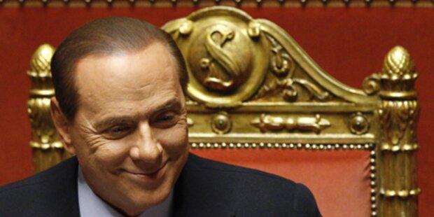 Berlusconi gewann Vertrauensvotum