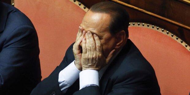 Berlusconis Partei gespalten