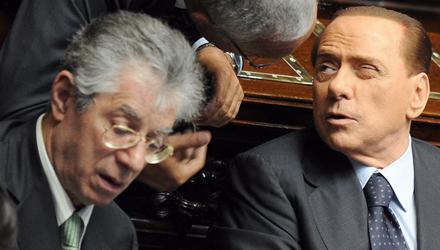 Berlusconi Bossi