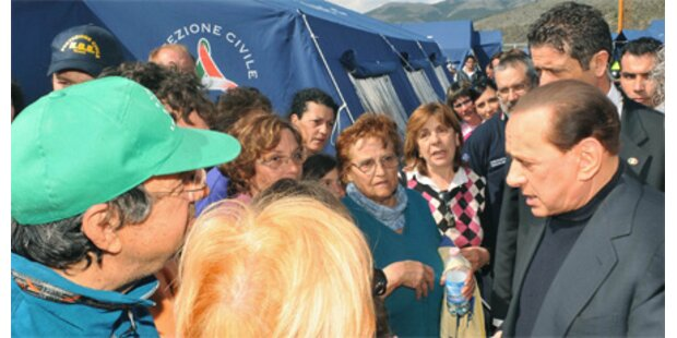 Berlusconi verhöhnte Beben-Opfer