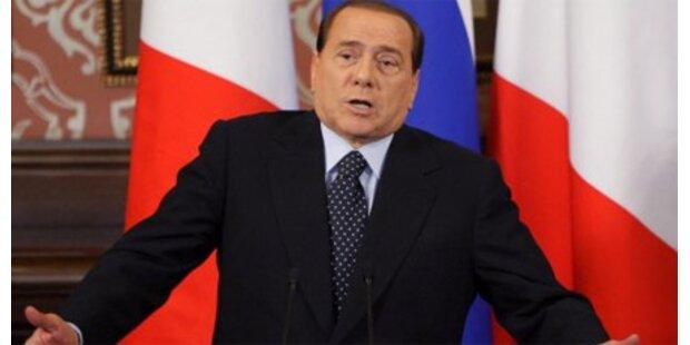 Berlusconi attackiert Medien
