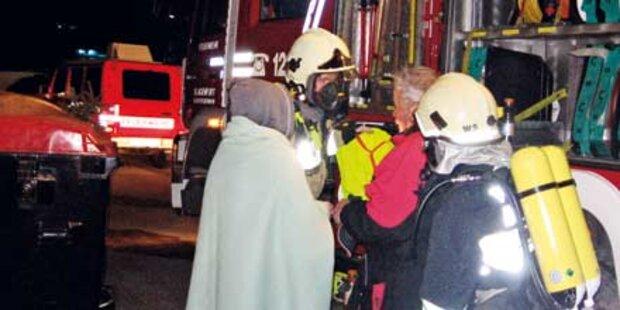 Großbrand forderte 6 Verletzte