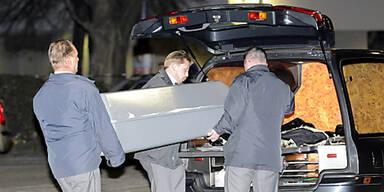 Sarg Leichenwagen Bestattung Mord Unfall Tod tot 610Px