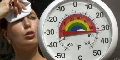 Besonders hohe Temperaturen belasten den Körper