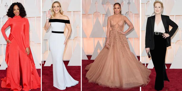 Die 10 schönsten Looks der Oscar-Verleihung