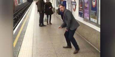Wahnsinns Ping-Pong Spiel in London
