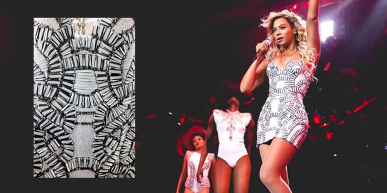 Beyoncé bestreitet Tournee in Versace