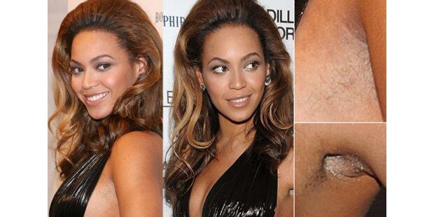 Beyoncé Knowles hat auf Wachsen vergessen!